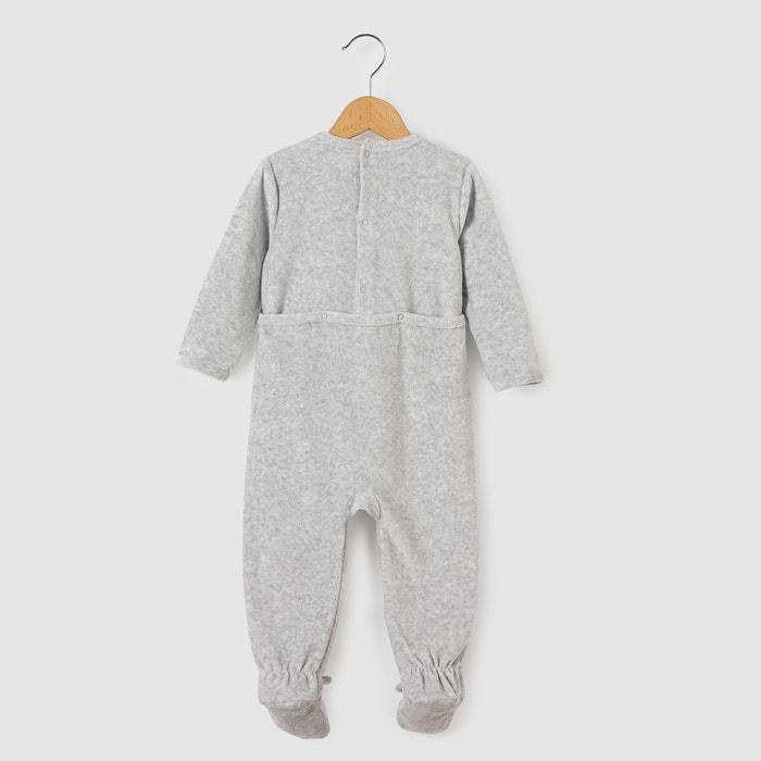 afbeelding Pyjama in fluweel La Redoute Collections