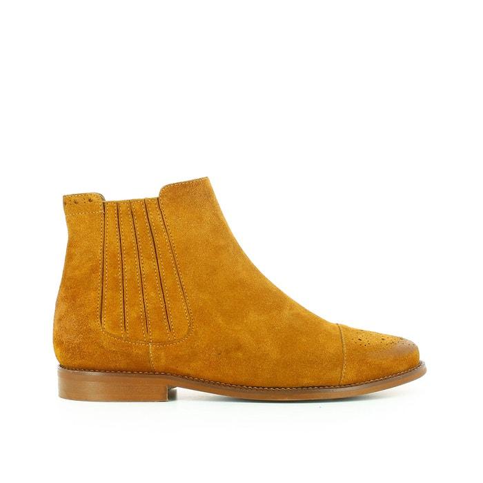 afbeelding Boots in fluweel leer Damalis JONAK