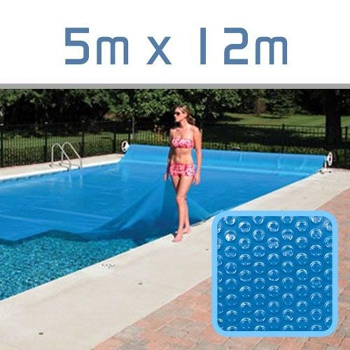 B che bulles 300 microns pour piscine 5m x 12m couleur for Zeolite piscine