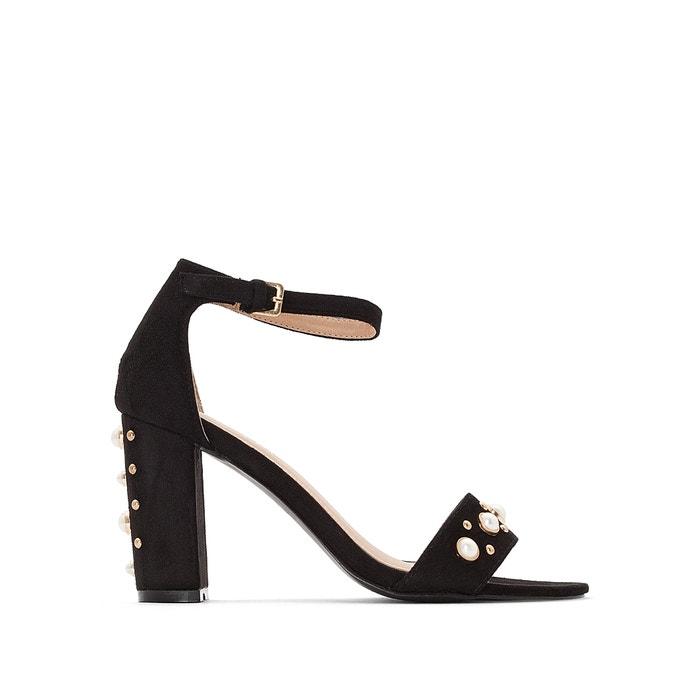 Sandálias com tacão alto, detalhe de pérolas  MADEMOISELLE R image 0