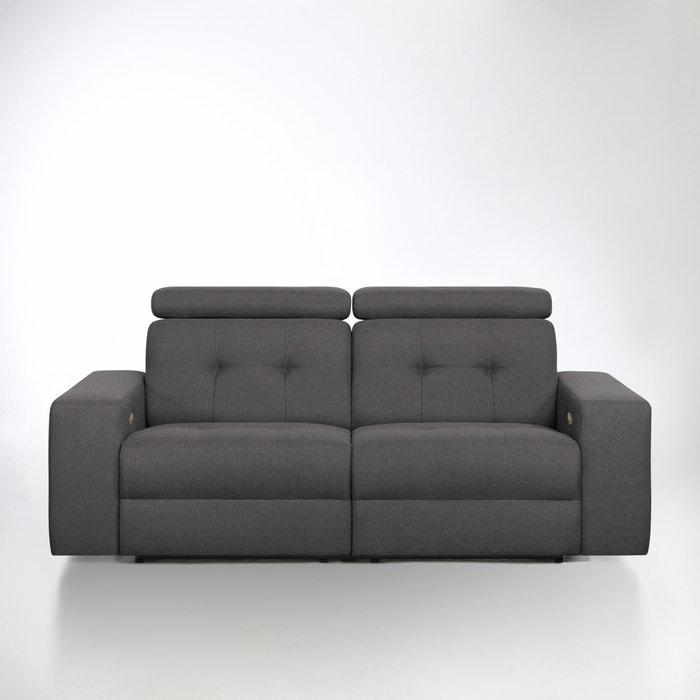 Image Canapé de relaxation électrique Julema en tissu chiné La Redoute Interieurs