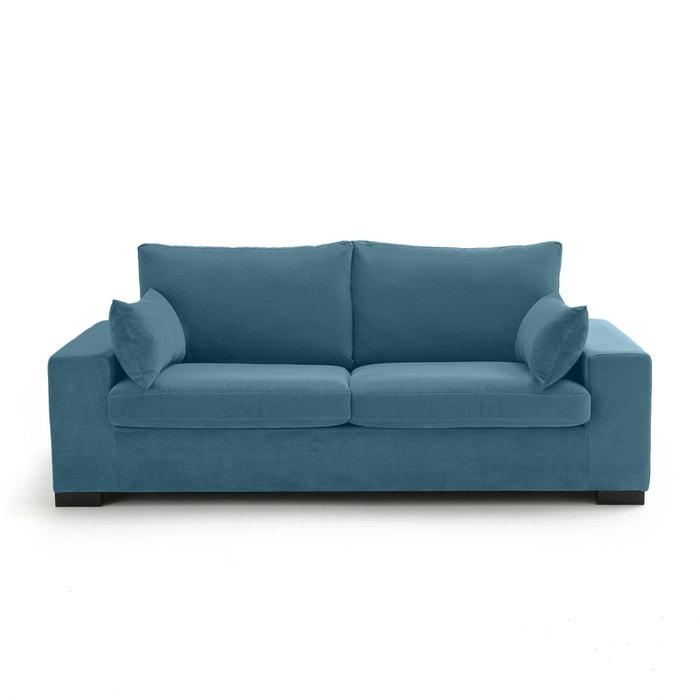 canap convertible odessa velours la redoute interieurs. Black Bedroom Furniture Sets. Home Design Ideas