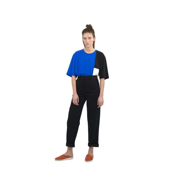 pantalon large mati re extra douce louise noir ra re la redoute. Black Bedroom Furniture Sets. Home Design Ideas