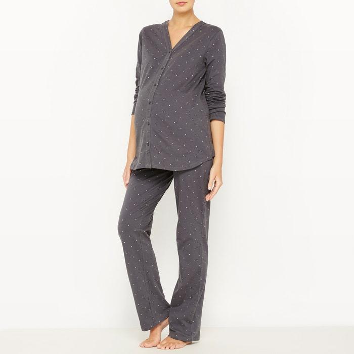 afbeelding Pyjama voor zwangerschap en borstvoeding La Redoute Collections