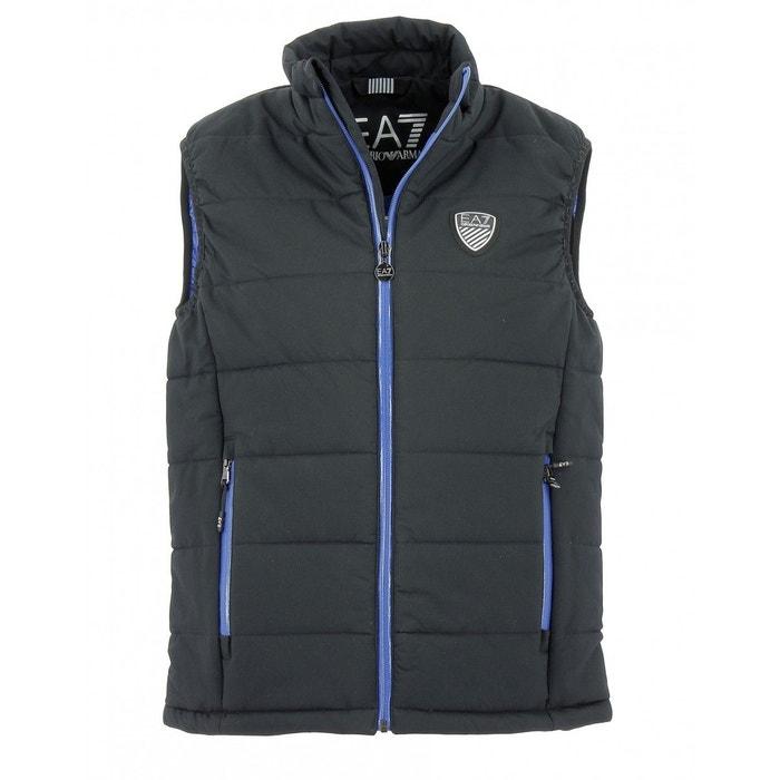 9e79c384f92d Doudoune sans manches ea7 down jacket emporio armani nylon noir Emporio  Armani Ea7   La Redoute