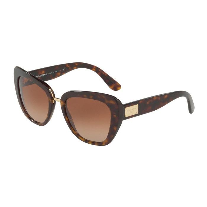 Lunettes de soleil dg4296 marron glacé Dolce Gabbana | La Redoute Sortie D'usine Pas Cher En Ligne Nice wx551