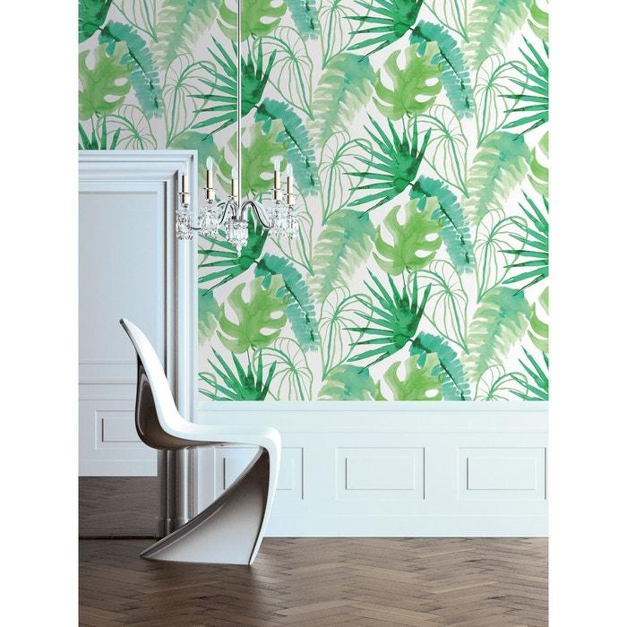 Papier Peint Jungle Fever Vert Atylia La Redoute