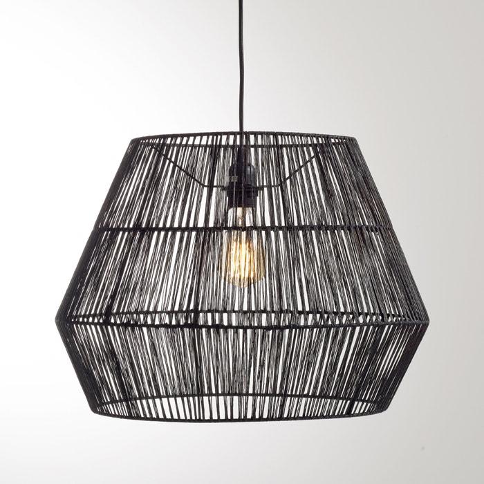 afbeelding Hanglamp in sisal, YAKU La Redoute Interieurs