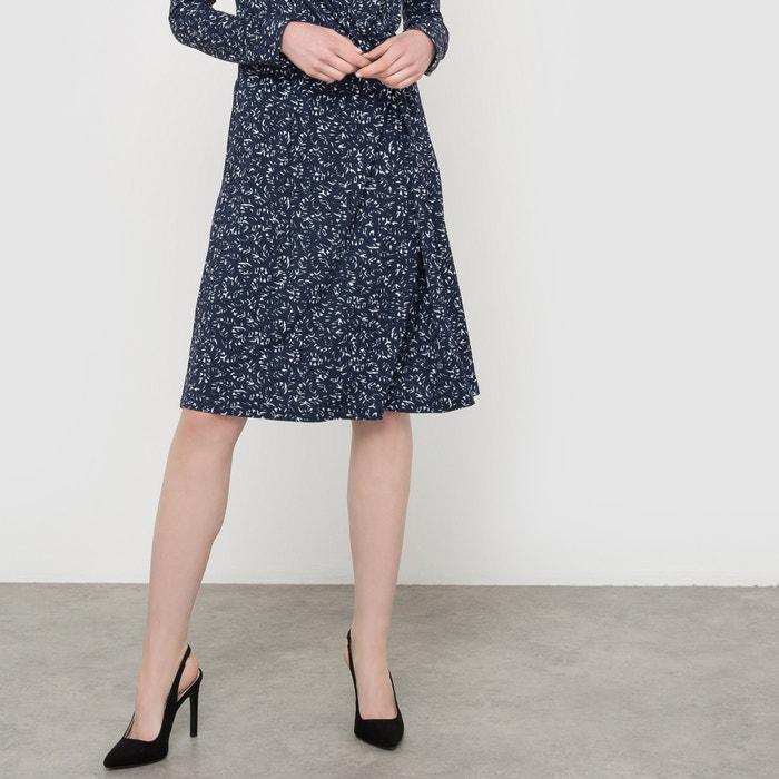 Imagen de Vestido estampado de punto vaporoso La Redoute Collections