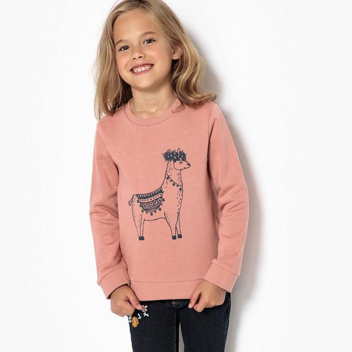 Llama Sweatshirt, 3-12 Years  La Redoute Collections image 0