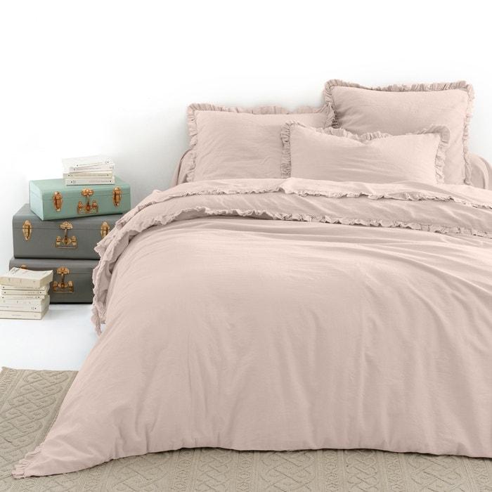 Image Nillow Linen/Cotton Duvet Cover La Redoute Interieurs