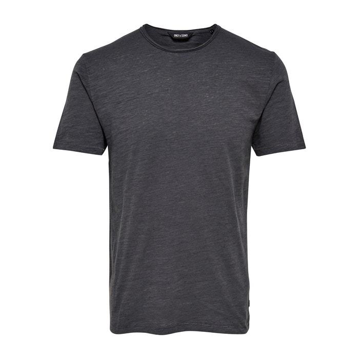 afbeelding T-shirt met ronde hals en korte mouwen ONLY & SONS