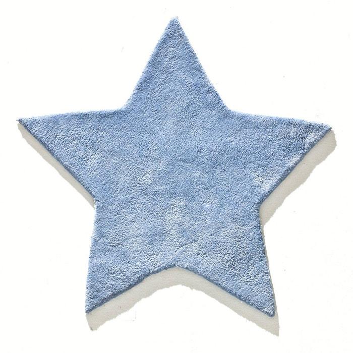 Tapis Enfant Coton Tufte Etoile Zilius Bleu Fonce La Redoute