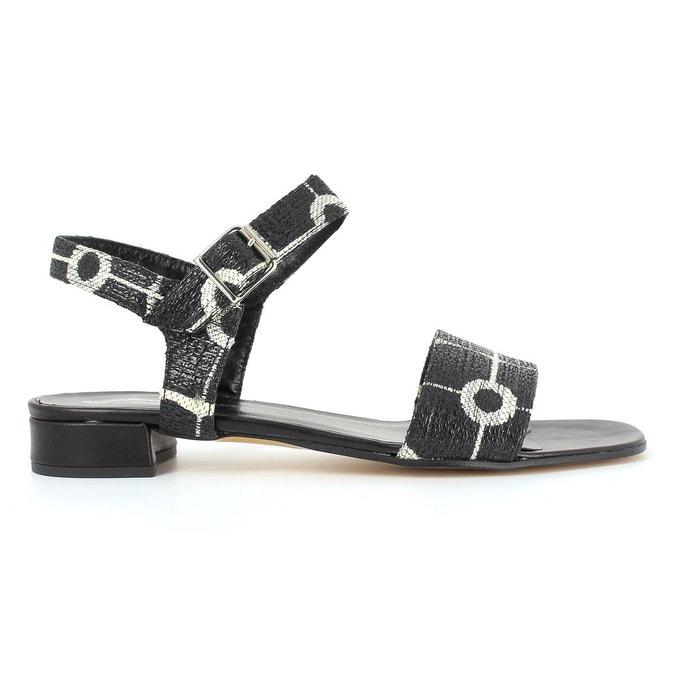 Sandales ambry 277 noir/blanc Elizabeth Stuart À Vendre CgtaQbV5