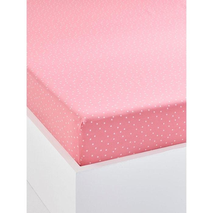drap housse enfant confettis rose moyen vertbaudet en solde la redoute. Black Bedroom Furniture Sets. Home Design Ideas