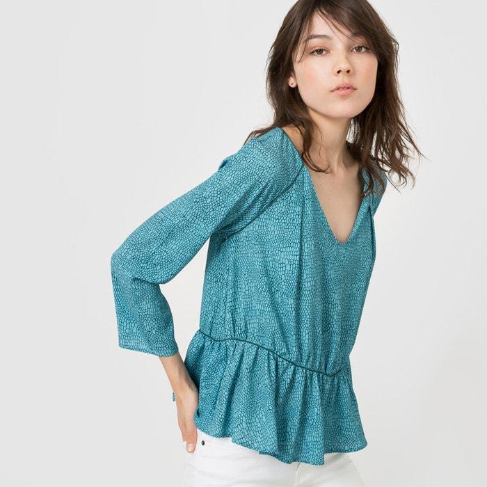 afbeelding Bedrukte soepele blouse R studio