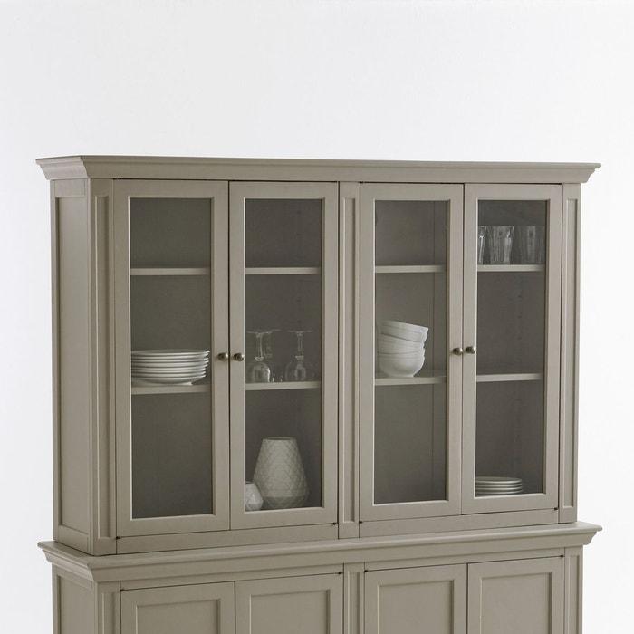 vaisselier 4 portes ad lia taupe la redoute interieurs la redoute. Black Bedroom Furniture Sets. Home Design Ideas