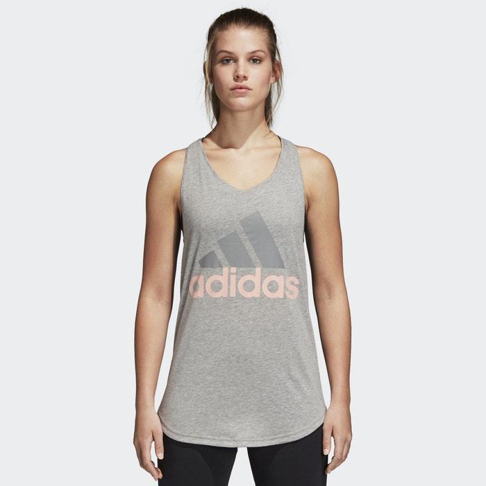 T-shirt logo scollo rotondo senza maniche Essentials  ADIDAS PERFORMANCE image 0