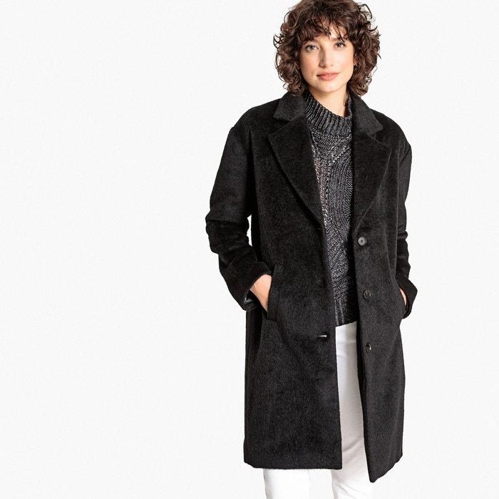 Manteau en laine mélangée, couple ample  LA REDOUTE COLLECTIONS image 0