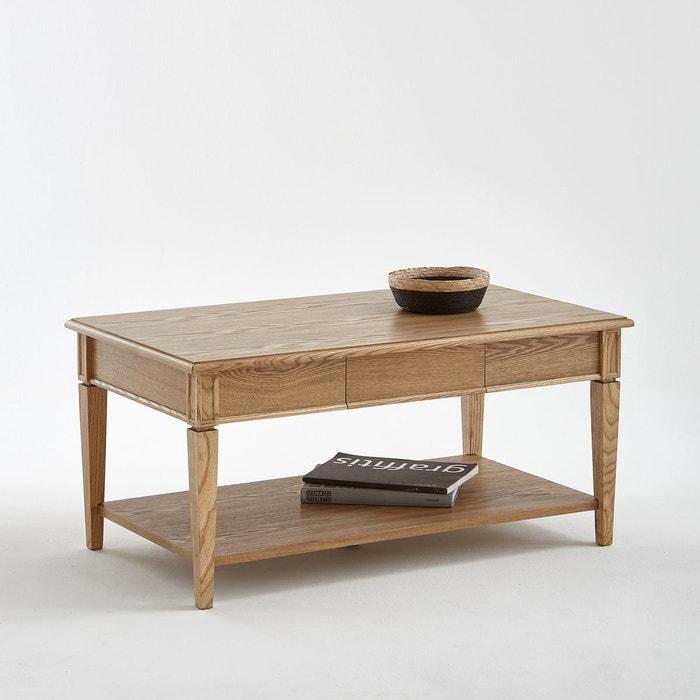 Table basse rectangulaire, frêne massif, Adelia La Redoute Interieurs