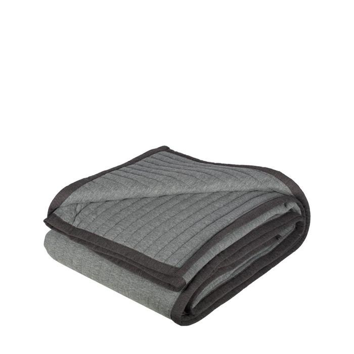 couvre lit matelass polyester 120g m2 team gris gris madura la redoute. Black Bedroom Furniture Sets. Home Design Ideas