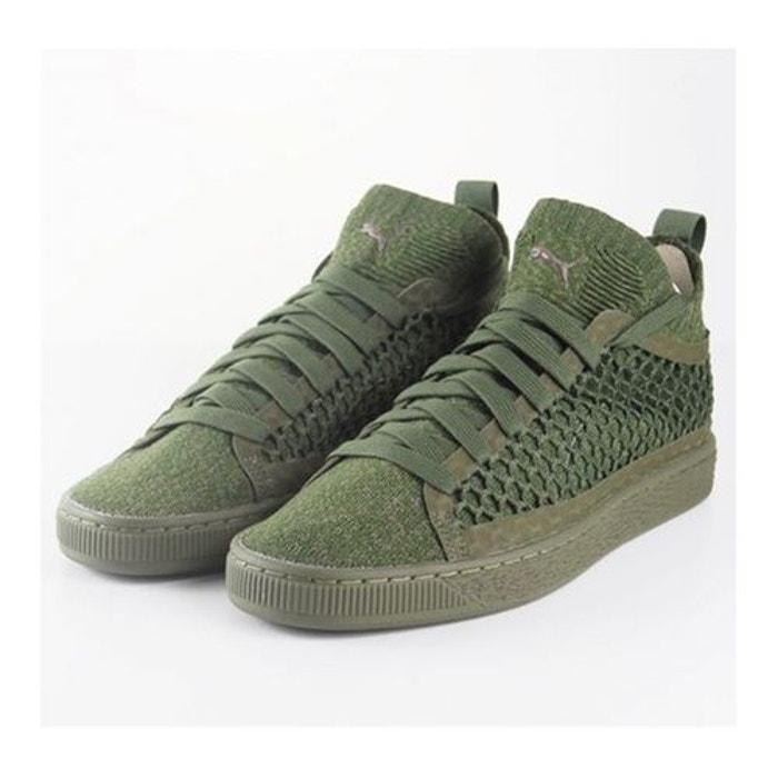 Chaussures puma basket classic netfit evoknit olive  olive Puma  La Redoute