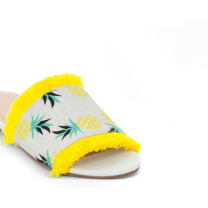 Redoute ananas motifs Mules Collections La 6nSqaTq
