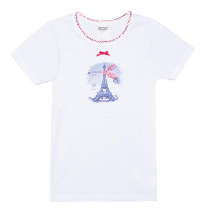 Plain Short-Sleeved Crew Neck T-Shirt  ABSORBA image 0