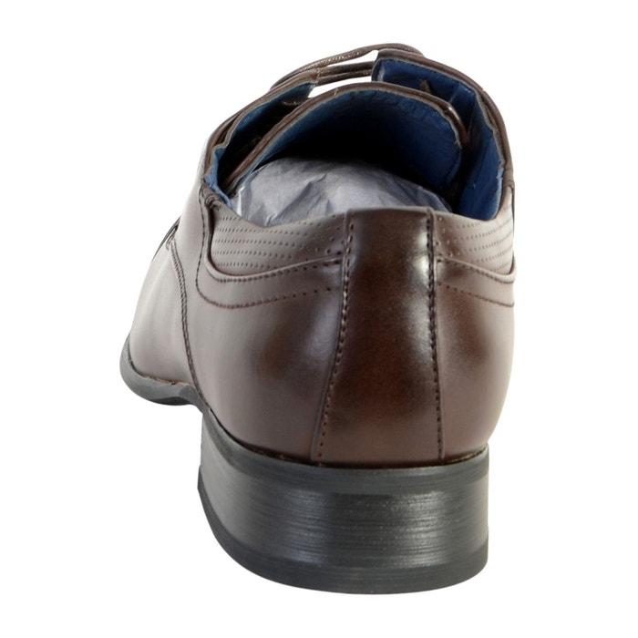 Chaussure derby marron marron Enzo Marconi