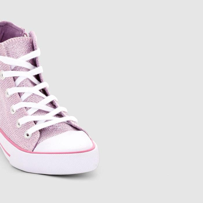 Imagen de Zapatillas deportivas de caña alta lisas La Redoute Collections