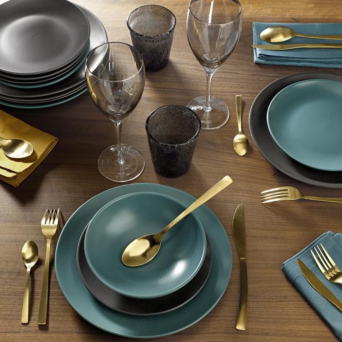 ... Melya Earthenware Dinner Plates with Matte Finish (Set of 4) La Redoute Interieurs ... & Melya earthenware dinner plates with matte finish (set of 4) La ...