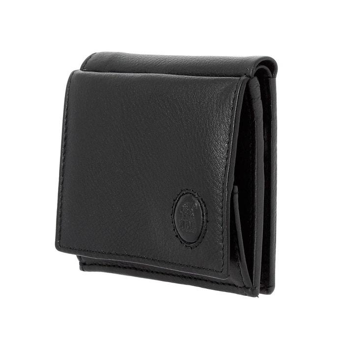 Faux Sortie Petit portefeuille pour homme en cuir avec porte Vente Livraison Gratuite Magasin De Sortie De Dégagement Vente Pas Cher Très 8LwmM