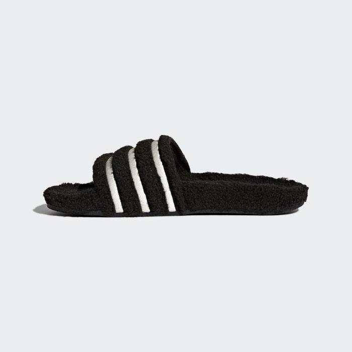 Adidas adilette molleton femme noir noir Adidas
