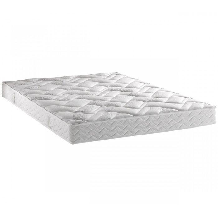 matelas dunlopillo 100 latex 18 cm blanc dunlopillo la redoute. Black Bedroom Furniture Sets. Home Design Ideas