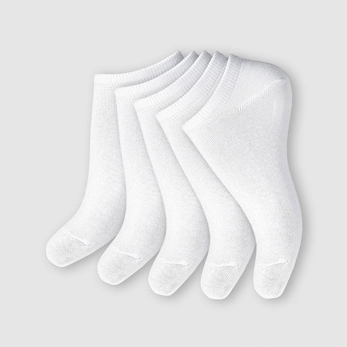 Image Pack of 5 Women's Low Ankle Socks R essentiel