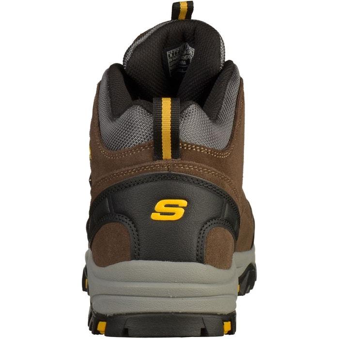 Bottines kaki Skechers