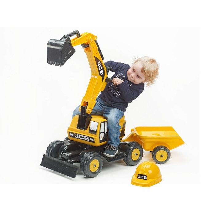 Porteur pelleteuse enfant jcb remorque accessoires for Pelleteuse jouet exterieur