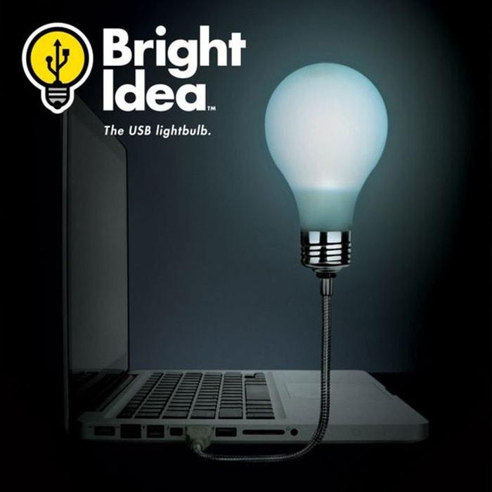 lampe usb ampoule phosphorescente kas design la redoute. Black Bedroom Furniture Sets. Home Design Ideas