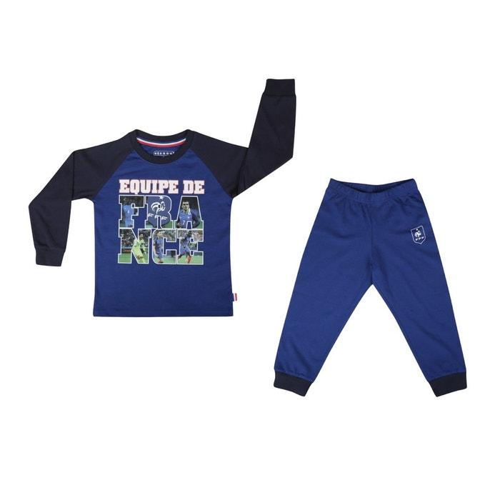 5cb9952a372e2 Pyjama france players bleu junior bleu Made In Sport