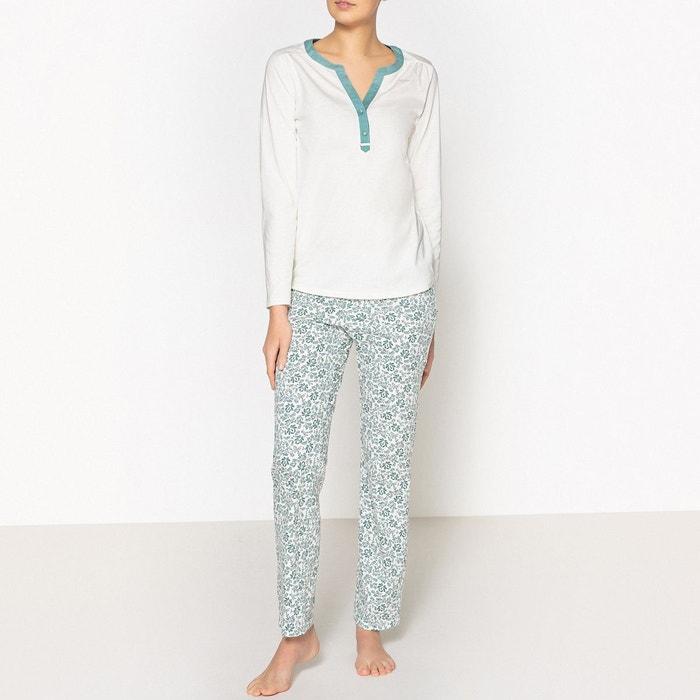Pyjama pur coton  LA REDOUTE COLLECTIONS image 0