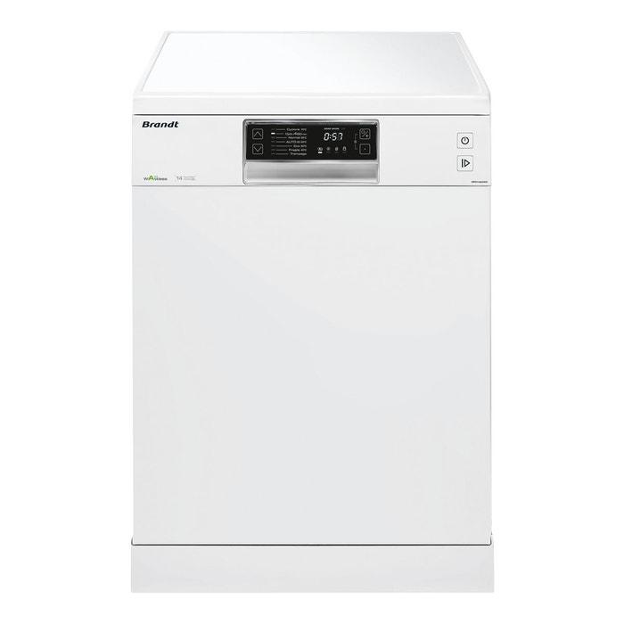 lave-vaisselle largeur 60 cm dfh14624w blanc brandt | la redoute
