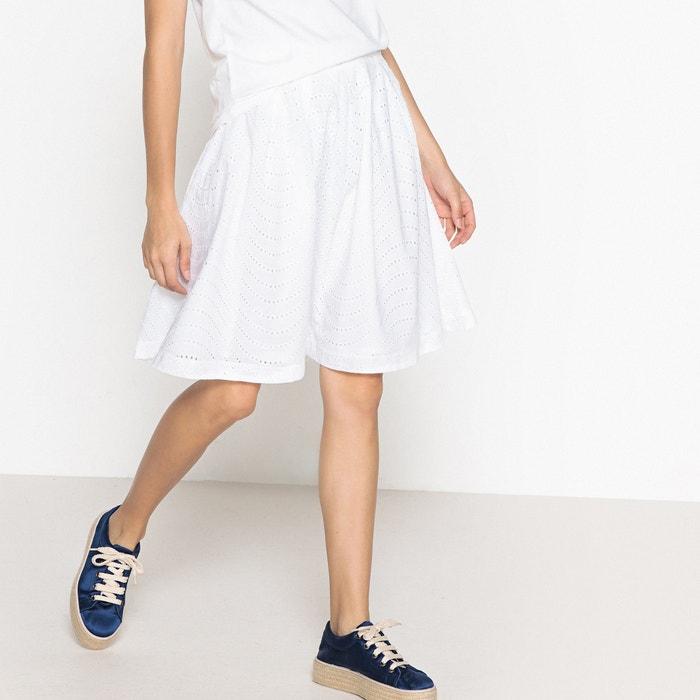 High Waist Flared Midi Skirt  BENETTON image 0