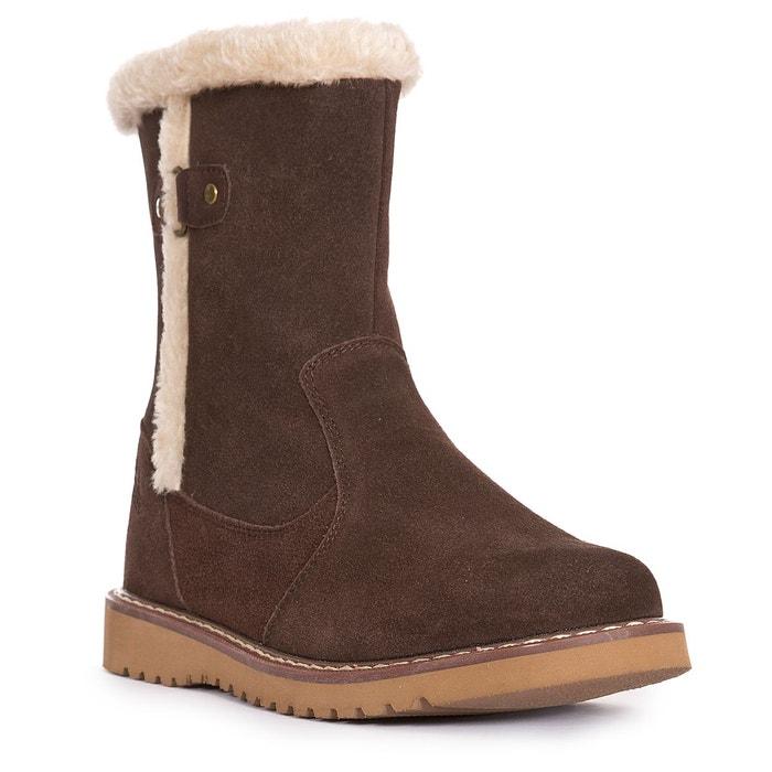 Lockwood - bottes dhiver - femme marron Trespass