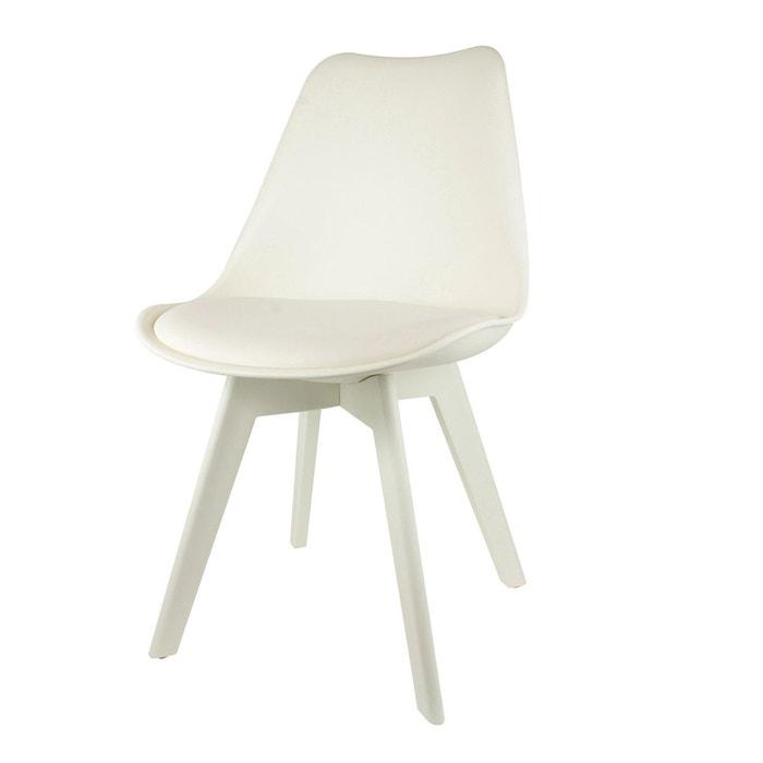 chaise full couleur blanc blanc atmosphera la redoute. Black Bedroom Furniture Sets. Home Design Ideas