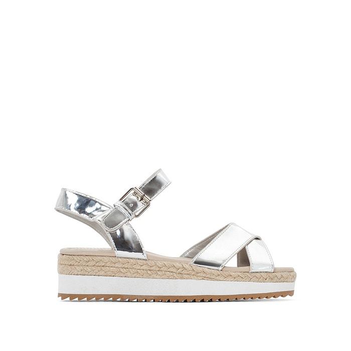 Metallic Wedge Sandals  La Redoute Collections image 0