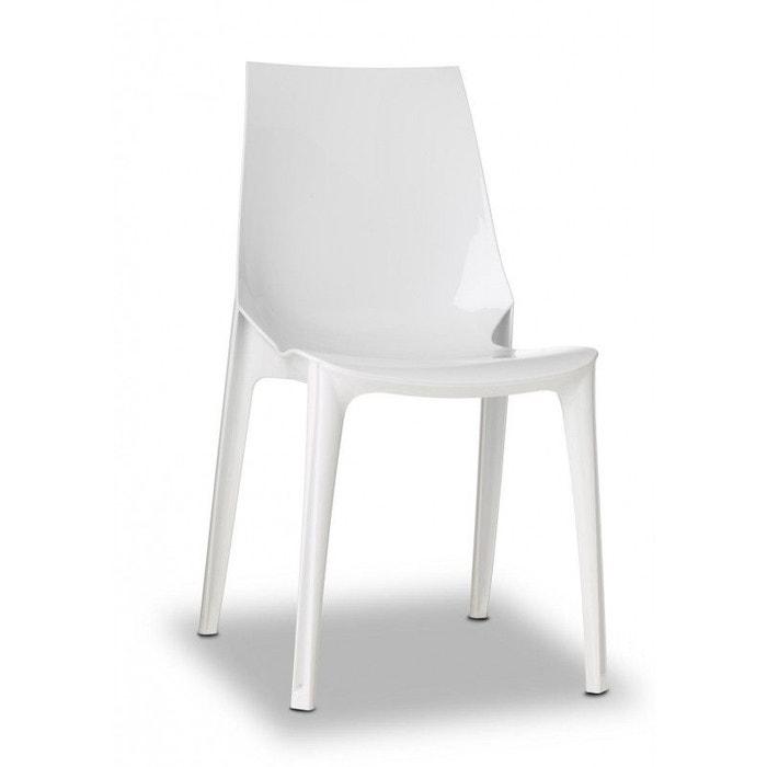 Chaise Vanity Design Par Scab: Chaise Design - Vanity Blanc Scab Design