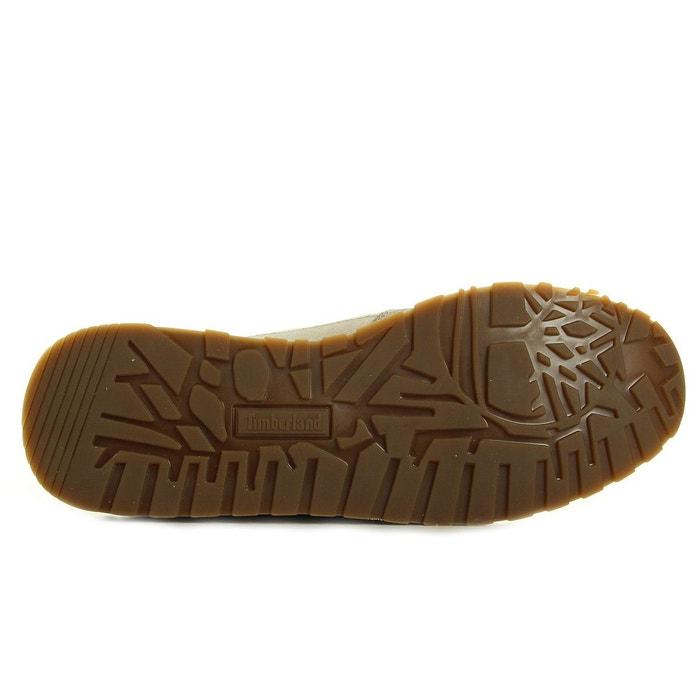 Baskets femme milan flavour sneaker blanc - doré Timberland