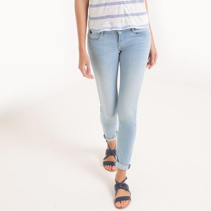 afbeelding Slim jeans, normale taille, lengte 32, push-up effect LE TEMPS DES CERISES