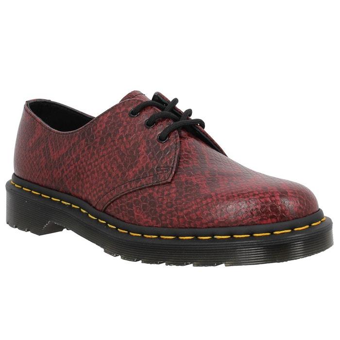 Chaussures à lacets femme dr martens 1461 viper femme rouge rouge Dr Martens
