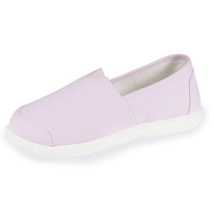 Chaussures en toile femme Isotoner   La Redoute 33e295a45873